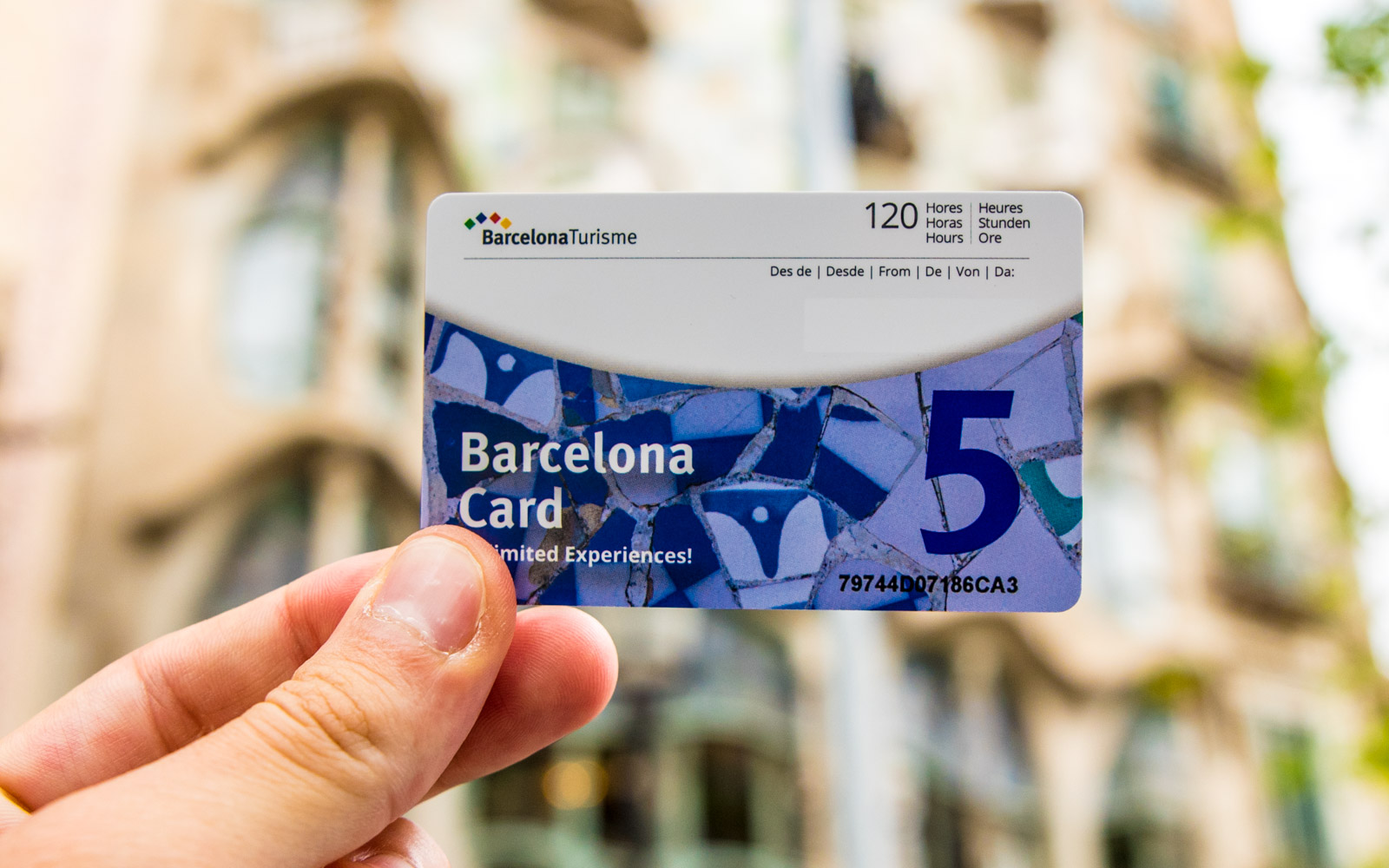 Barcellona Card